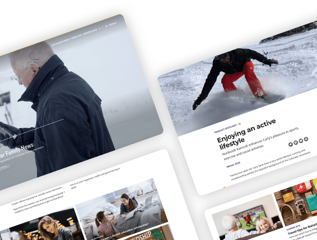 Cochlear Family News - Content Pages